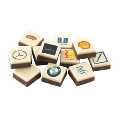 chocotelegram logochocolade logoblokje