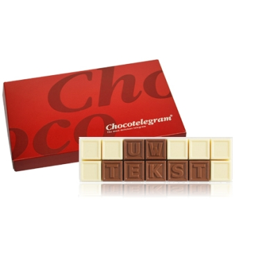 Chocotelegram Relatiegeschenken Chocolade CTC14