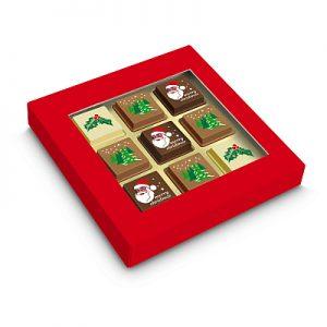 Chocolade Pralines Kerst