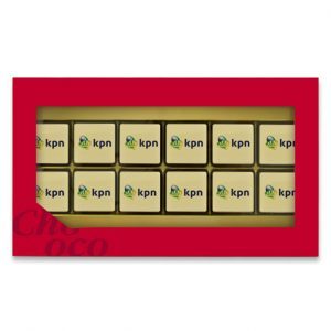 Chocogiftbox 12 Blokjes