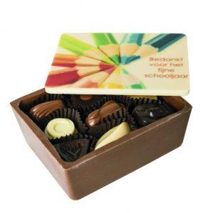 Chocolade Kist Met Pralines