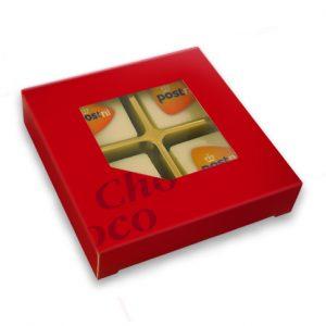 Chocogiftbox 4 Blokjes