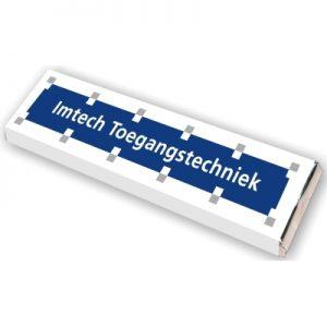 Chocolade Met Logo Wikkel