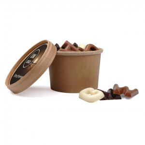 Bio Snoepbeker 100gram Chocoladelettertjes 3 Copy